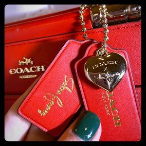 Red Selena Gomez Coach Bag